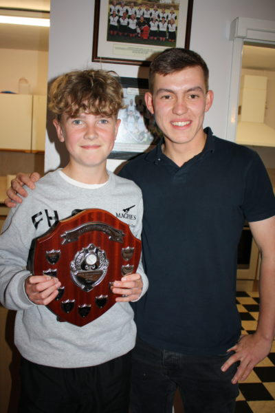 Development Player of Season Boy