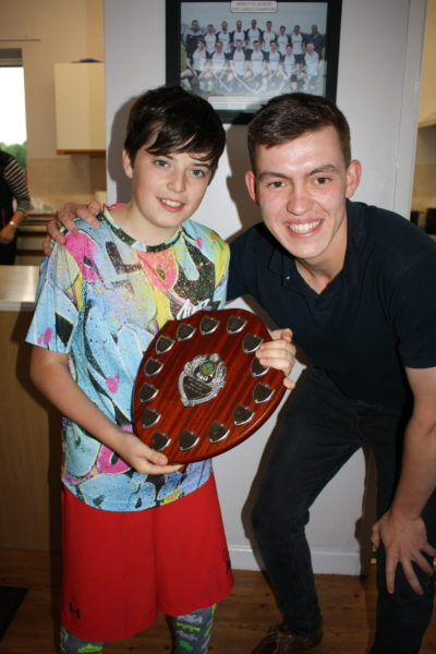 U11 Player of Season Boy
