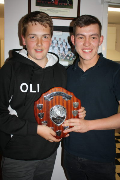 U15 Player of Season Boy