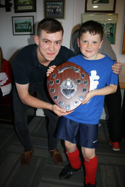 U9 Player of Season Boy