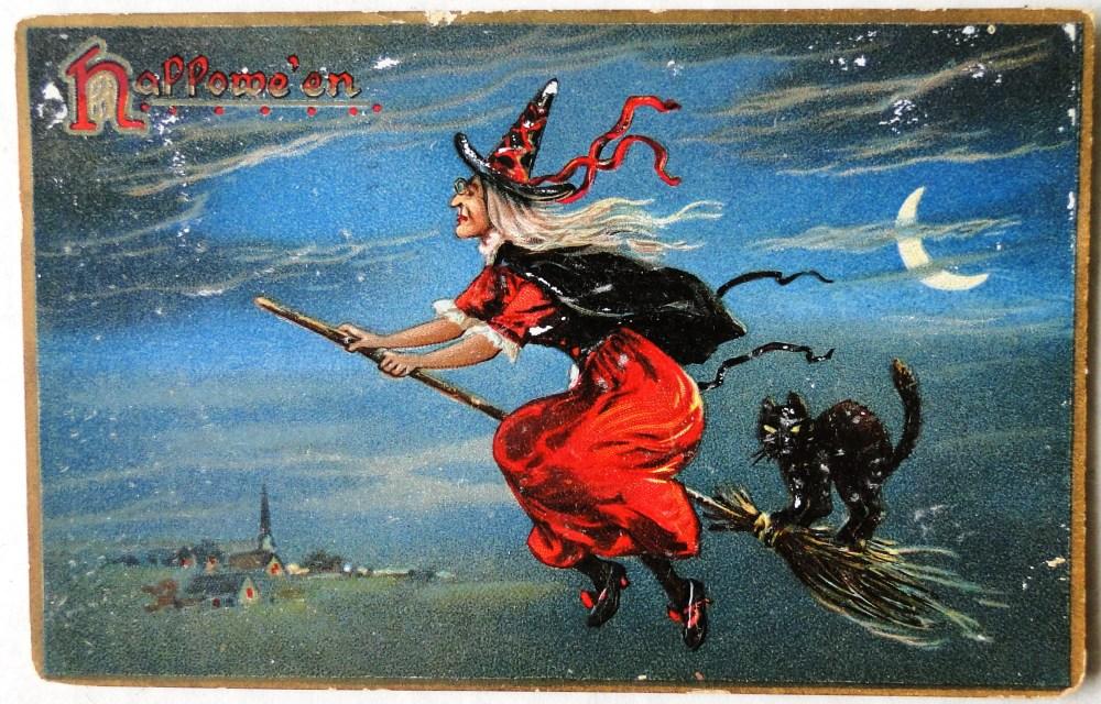Hallowe'en Postcard *FREEBIE* (1/2)