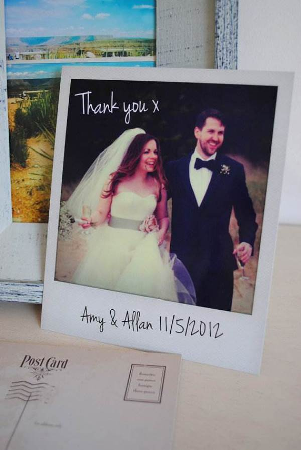 Etsy wedding thank you card 1 via National Vintage Wedding Fair