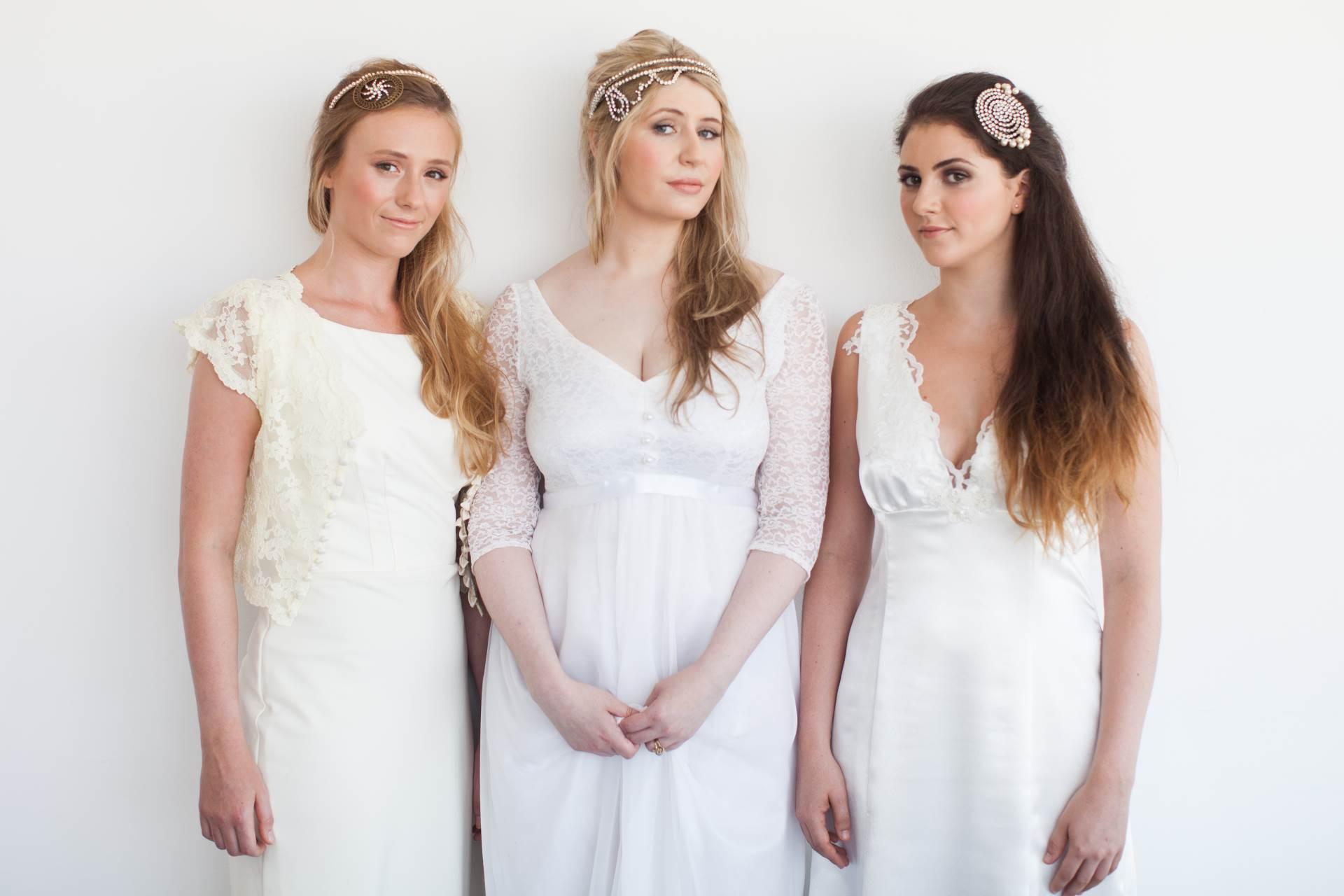 Stunning hair accessories by La Belle Epoque | Magpie Wedding