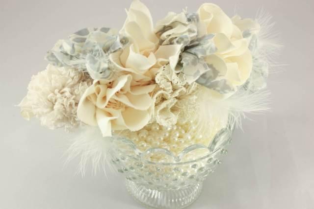 Daphne Rosa vintabe insired wedding accessories via The National Vintage Wedding Fair