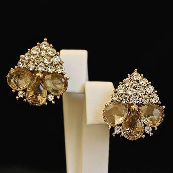 'Grape' Earrings, Christian Dior