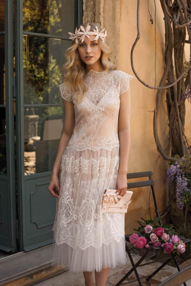 Vintage wedding dress from Case of the Curious Bride at the National Vintage Wedding Fair
