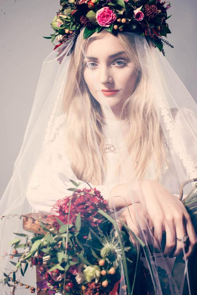 1970s vintage wedding shoot  by Tim Simpson Photography as featured on The National Vintage Wedding Fair blog