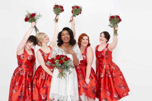 How to choose vintage style bridesmaid dresses for all body shapes by Joanie
