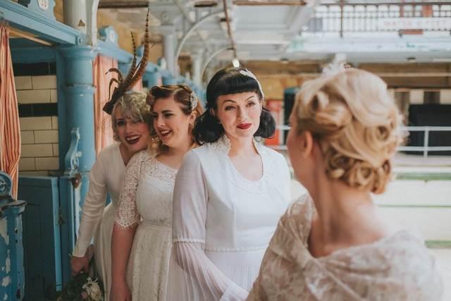 Manchester Wedding Fair in Victoria Baths now Magpie Wedding