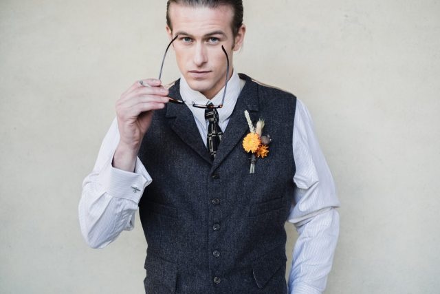 Vintage style menswear for your groom and groomsmen