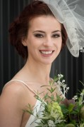 Vintage 1940s wedding style with contemporary twist and a Hurricane