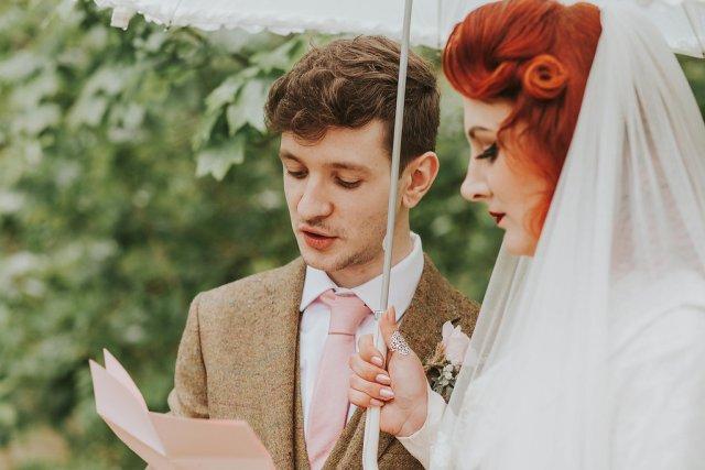 A 1940s vintage wedding