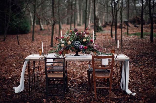 Alternative Bridal Style- A Rustic Woodland Wonderland