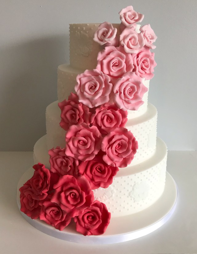 Fresh Flower Wedding Cake Advice with Cake Expert La Belle Cake Company