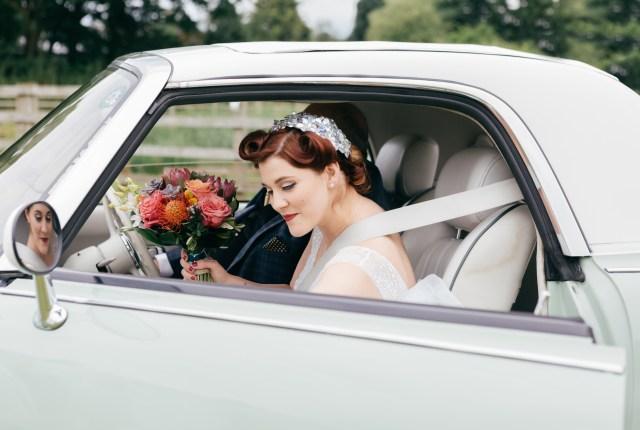 A Vintage Hawaiian DIY Wedding and Bridal Designer Bride