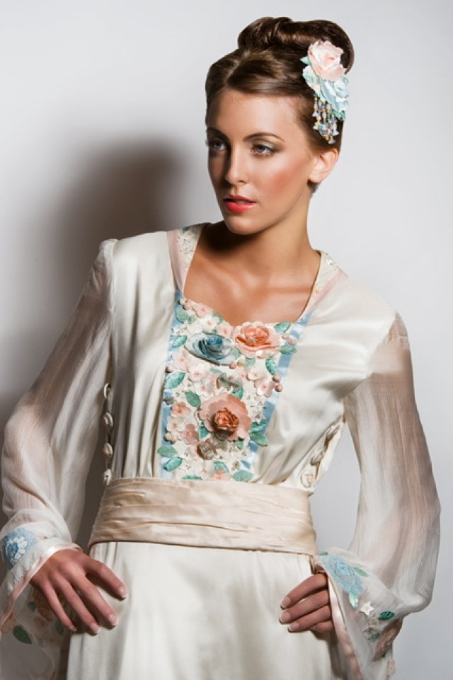 Embriodery and embellishments - alternative bridal looks and how to stand out from the crowd on your wedding day