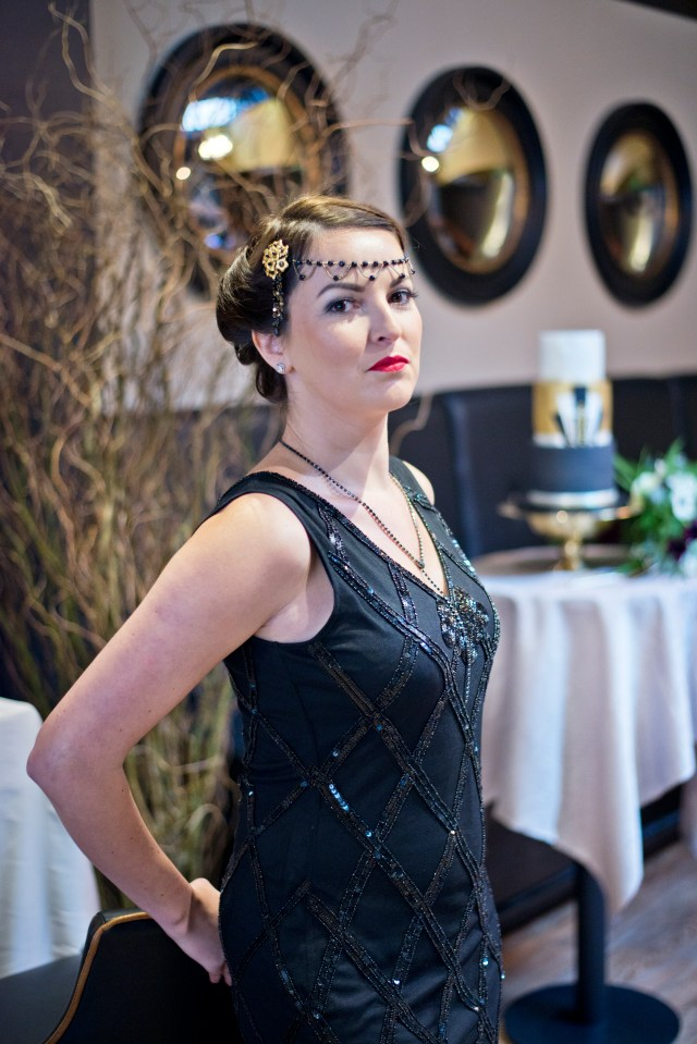 Great Gatsby, Peaky Blinders Alternative Wedding Inspiration