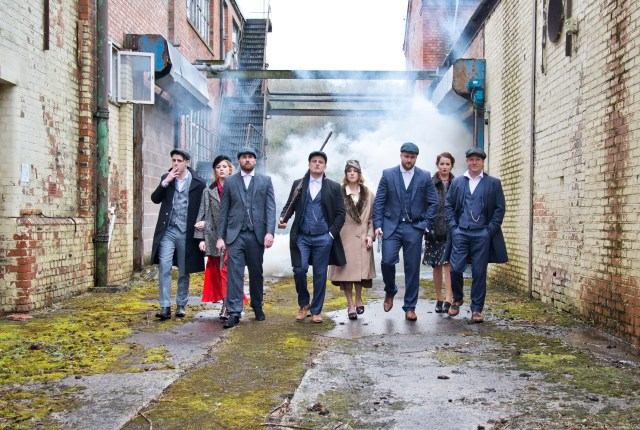 Great Gatsby meets Peaky Blinders Alternative Wedding Inspiration