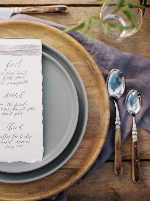 Stacked Wedding Place Settings - How To Add The WOW Factor To Your Wedding Day Tables