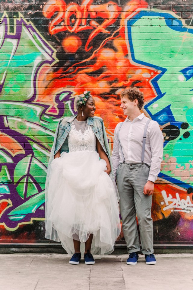 Cool Urban City Wedding Inspiration with Sassy Shoreditch Style