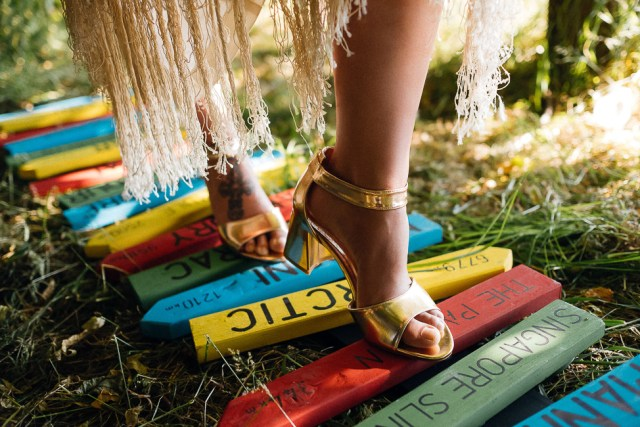 Boho Garden Summer Wedding Inspiration with relaxed and colourful Cuban vibes