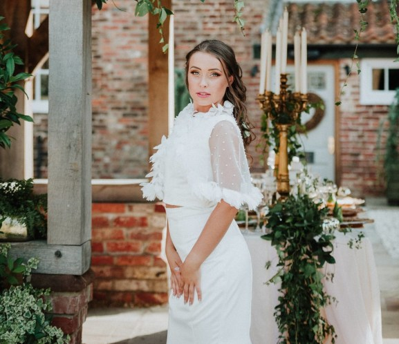 The Bridal Cape - Trend Report with River Elliot Bridal