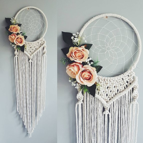 Macrame wedding decoration