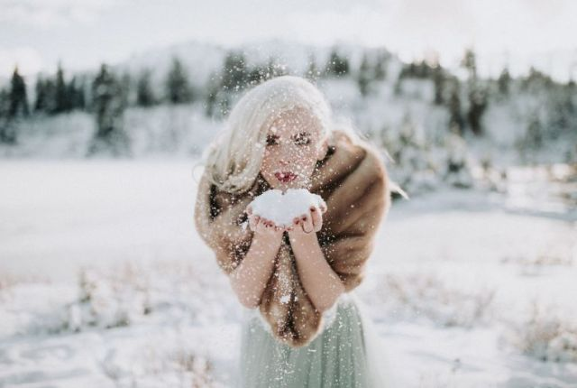 Perfect Wedding Hair and Skin Prep for Winter Brides