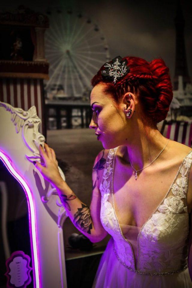 Neon Wedding Inspiration with Modern Retro Styling