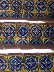 tile stairs close