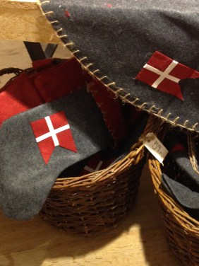 Stockings & skirts with Danish Flag