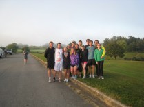 Our Ragnar DC team, 2012.