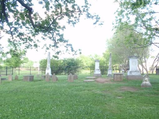 McGavock family cemetary at Carnton Plantation in Franklin, TN