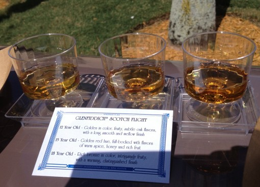 Scotch Flight in Epcot