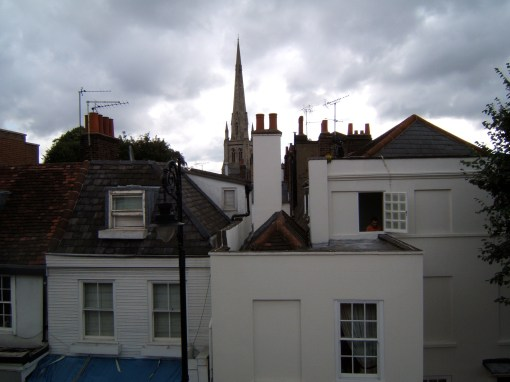 Rooftops in Hampstead London