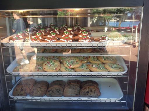 Holiday cookies at Epcot