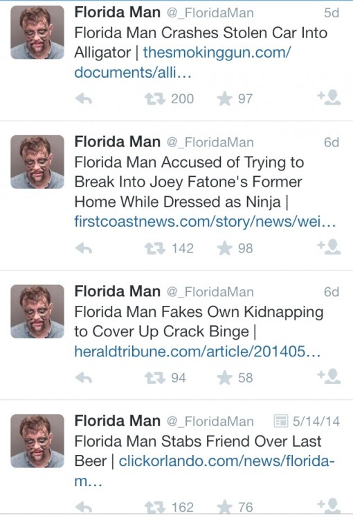 @_floridaman is maybe the best twitter ever!