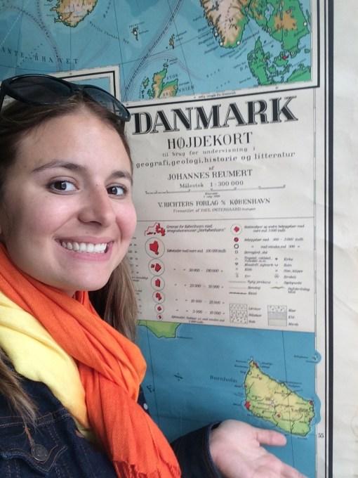 Landed in Denmark