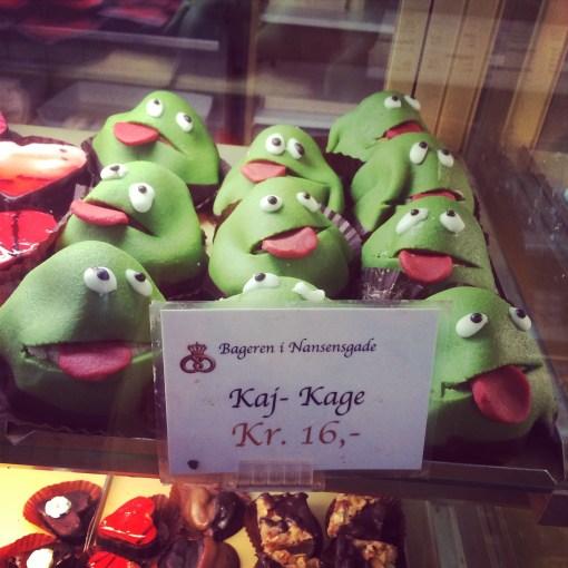 Pastries in Copenhagen, Denmark