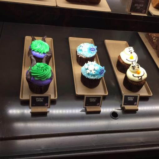 Disney Starbucks Cupcakes