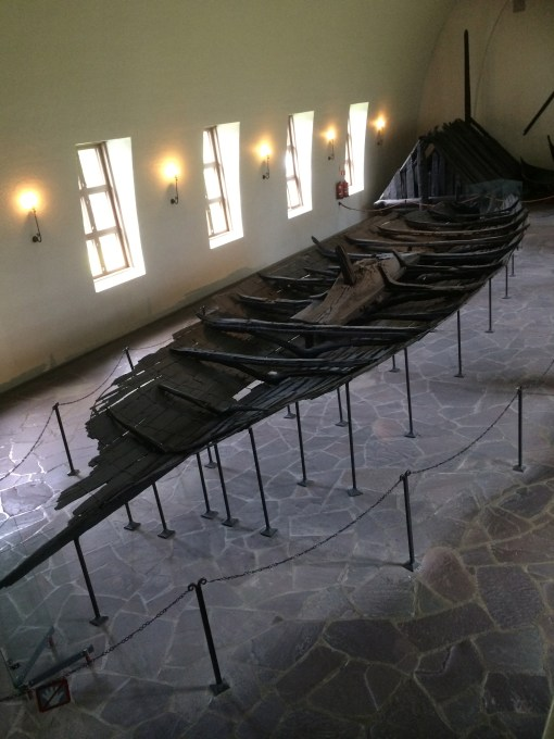 The Tune Ship at the Viking Ship Museum in Oslo, Norway.