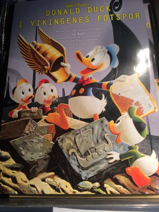 Viking Donald Duck!