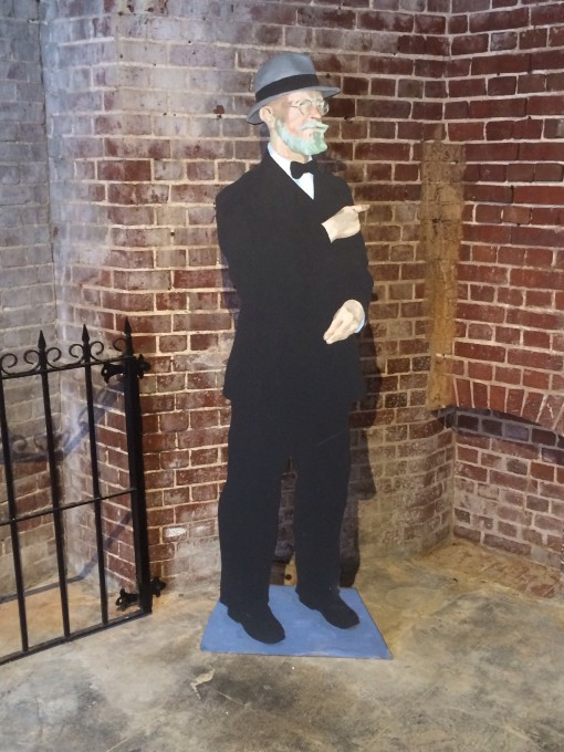 Count Von Cosel in the East Martello Museum