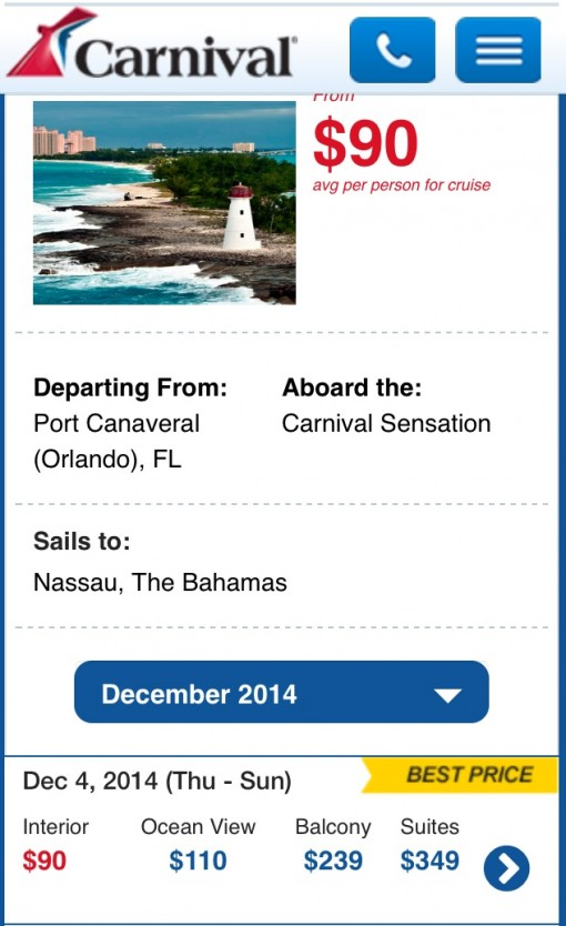 Cheap Carnival Cruise = So not worth it!