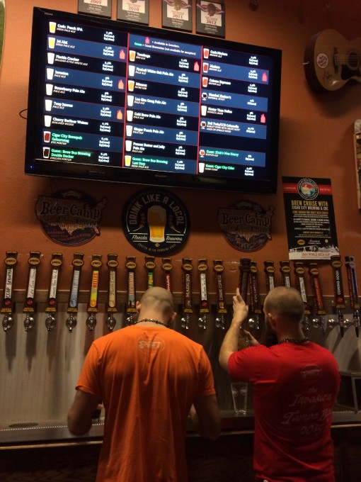 Cigar City Brewing Tap Room in Tampa, FL