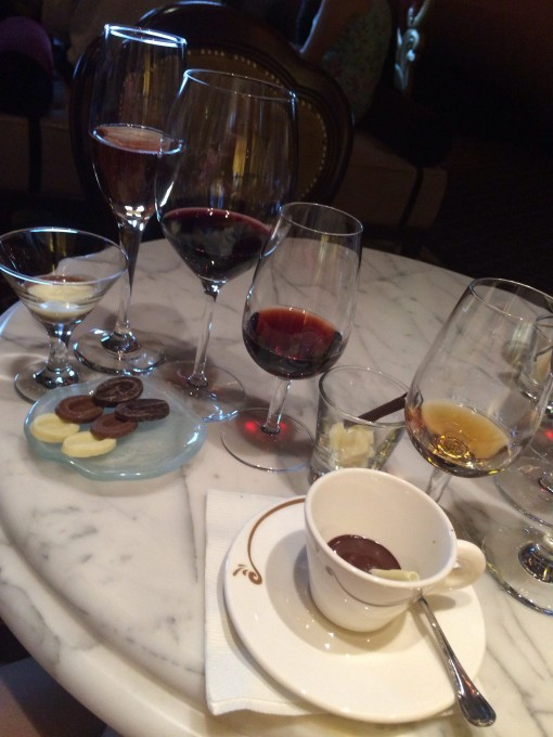Chocolate and Liquor tasting on the Disney Fantasy- Disney Cruise Line