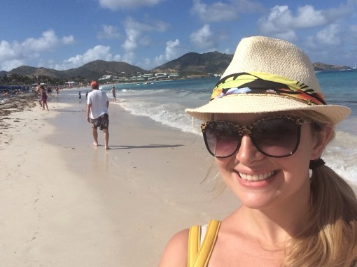 Bikini Beach in Saint Martin