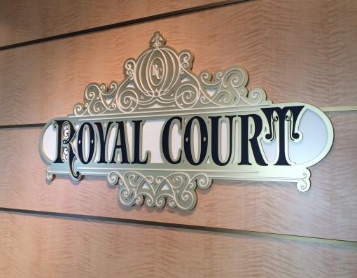 Royal Court on the Disney Fantasy- Disney Cruise LInes