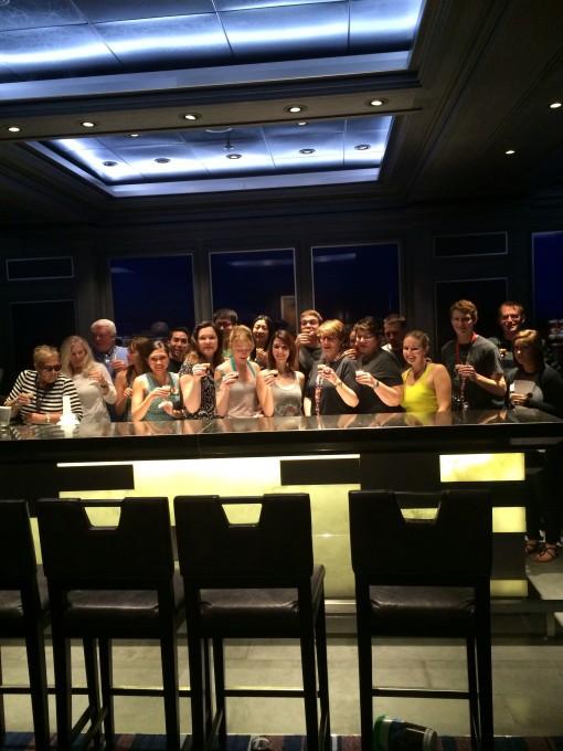 Mixology class on the Disney Fantasy- Disney Cruise Line