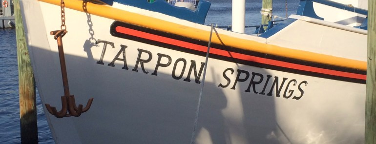 Tarpon Springs, FL; the land of Greeks and Sponges